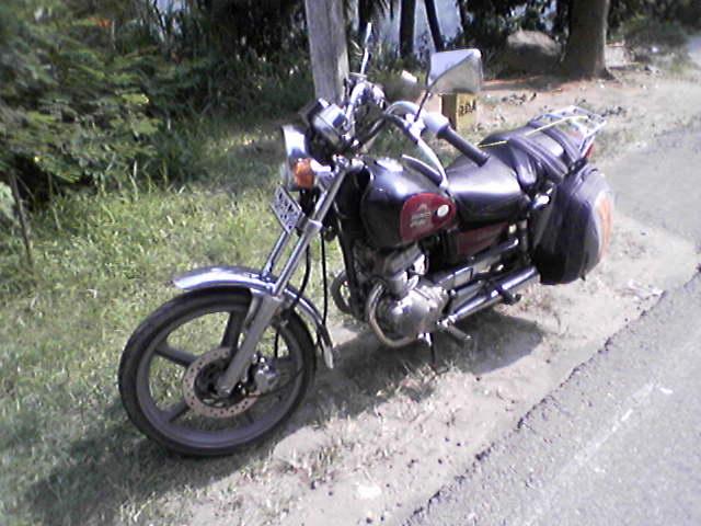 Мой ланкийско-японский железный конь :)