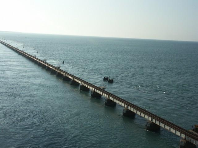 мост на Рамешварам