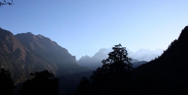 утренние виды в Тиманге