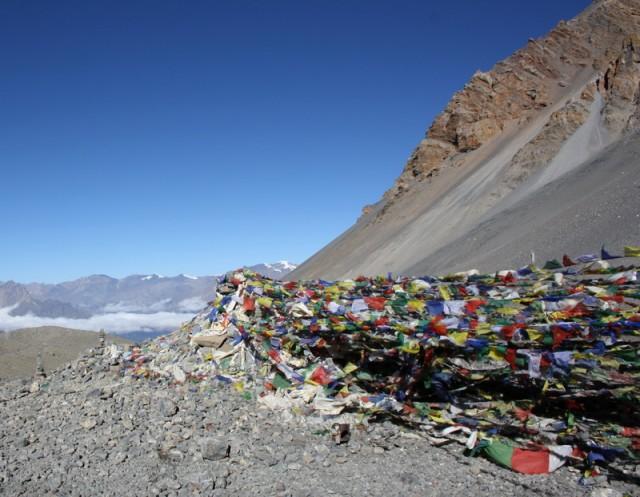 флаги на перевале