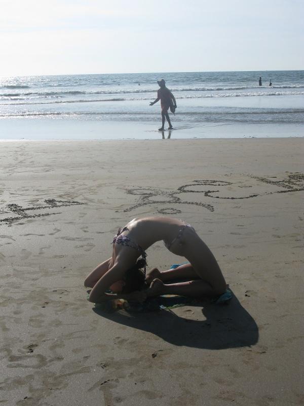 йога на пляже-2