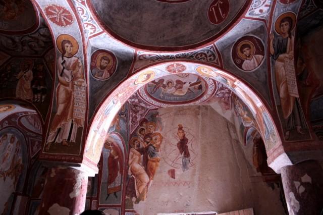Росписи в скальных храмах