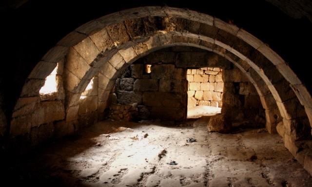 подвалы храма