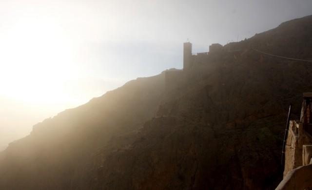 монастырь на горе