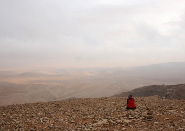 туманный вид на долину