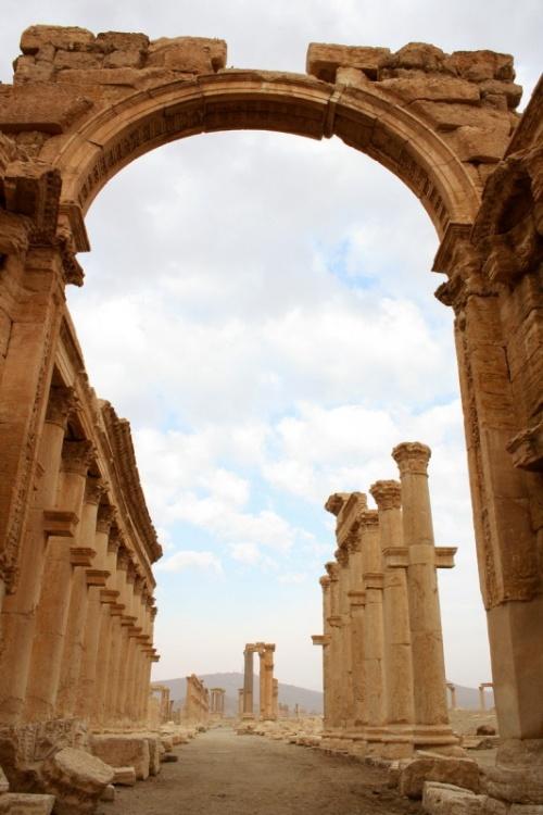 развалины Пальмиры