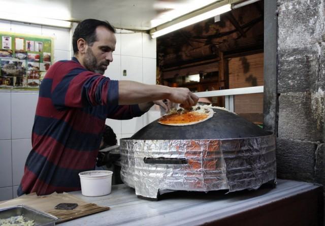 приготовление вегетарианской шаурмы