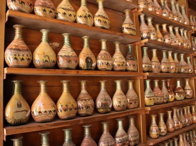 картины из песка в бутылках