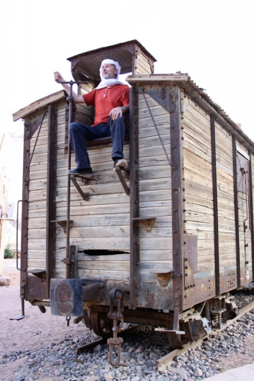 вагон стоит со времен Лоуренса