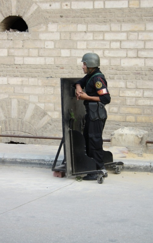 охрана коптского квартала