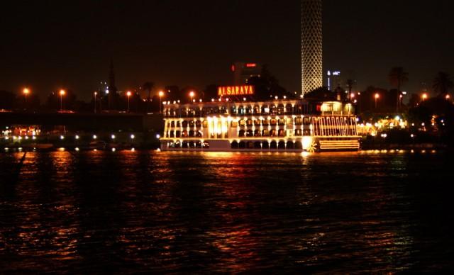 ночная прогулка по Нилу