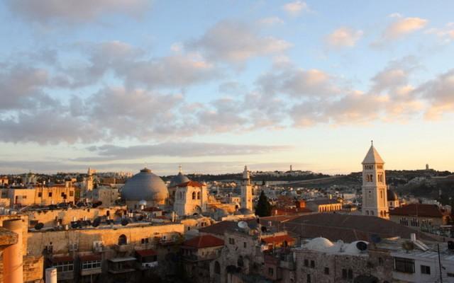 рассветный Иерусалим
