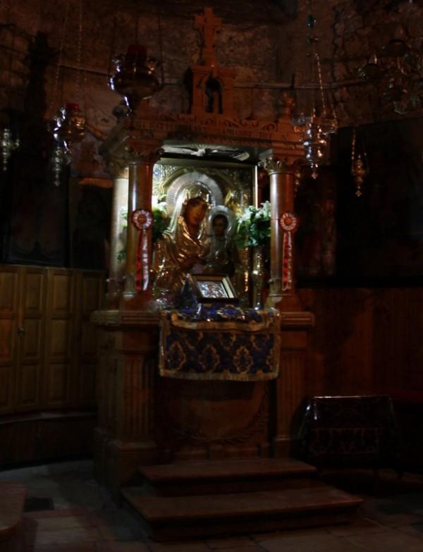 чудотворная икона Иерусалимской Божьей Матери