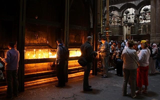 часовня над местом погребения Христа