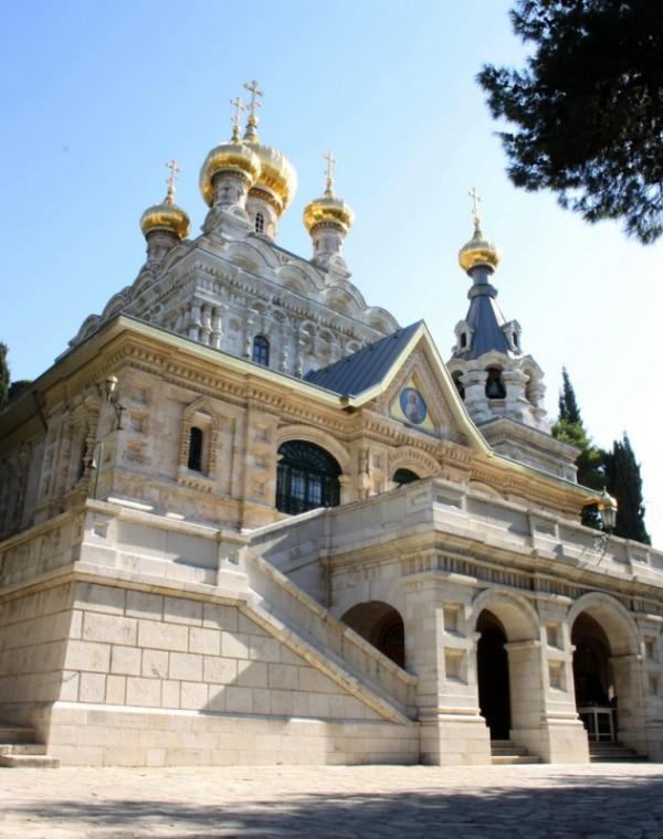 православные монастырь Марии Магдалины на Масличной горе