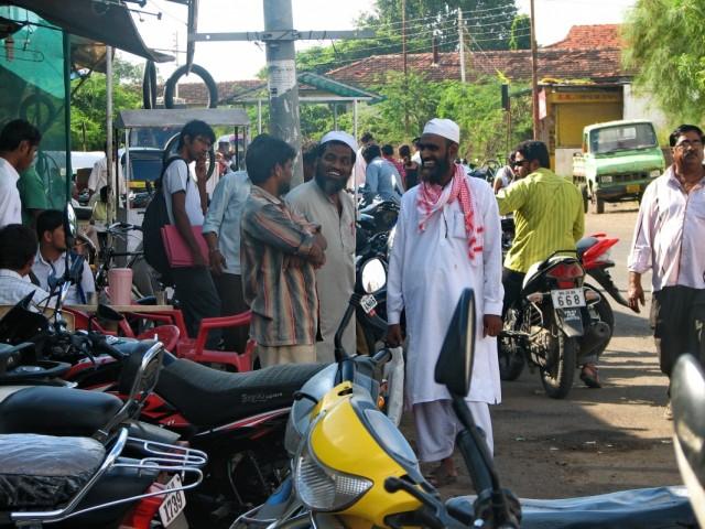 В мусульманском квартале.