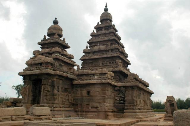 Махабалипурам. Прибрежный храм