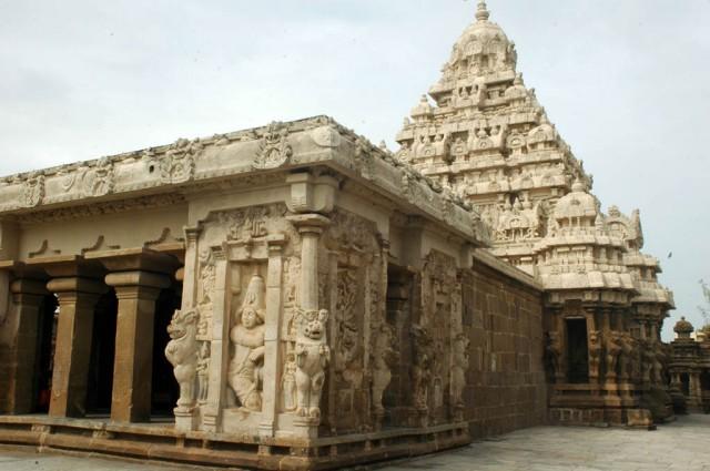Канчипурам. Храм Кайласанатх
