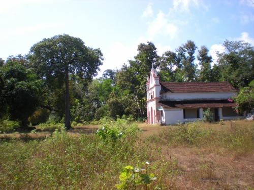 "Церквушка ""Святого Антония"" на территории форта."