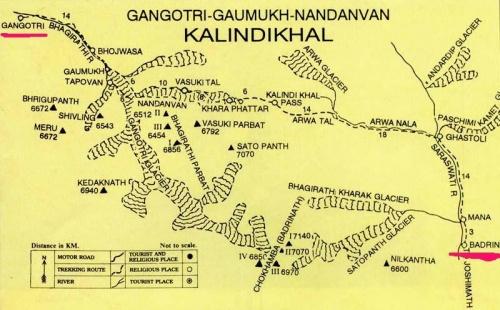 Ганготри - Бадринатх