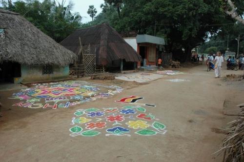 это сама деревня