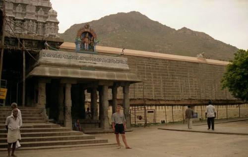 """это сама гора (вид из храма """"Танцующего Шивы"""""""