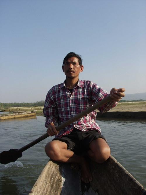 Одухотворенный лодочник. Читван.