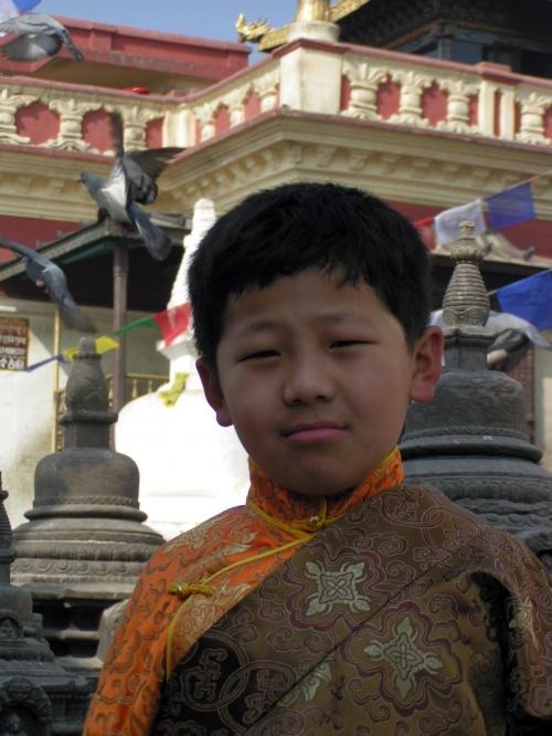 Маленький китайский паломник.