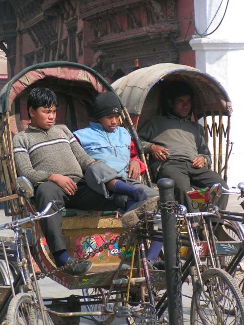 Водители на отдыхе... :))