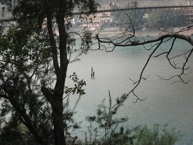 Ганга обмелела - идем гулять по воде?