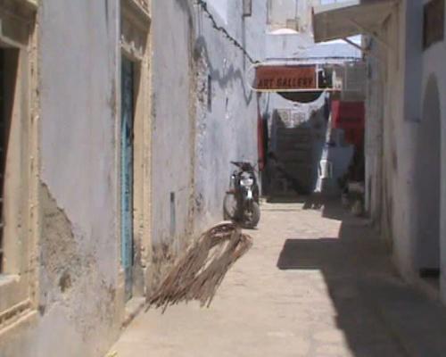 Улицы медины в Хаммамете