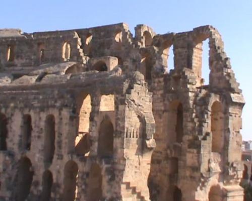 Римский (африканский) Колизей в Эль-Джеме