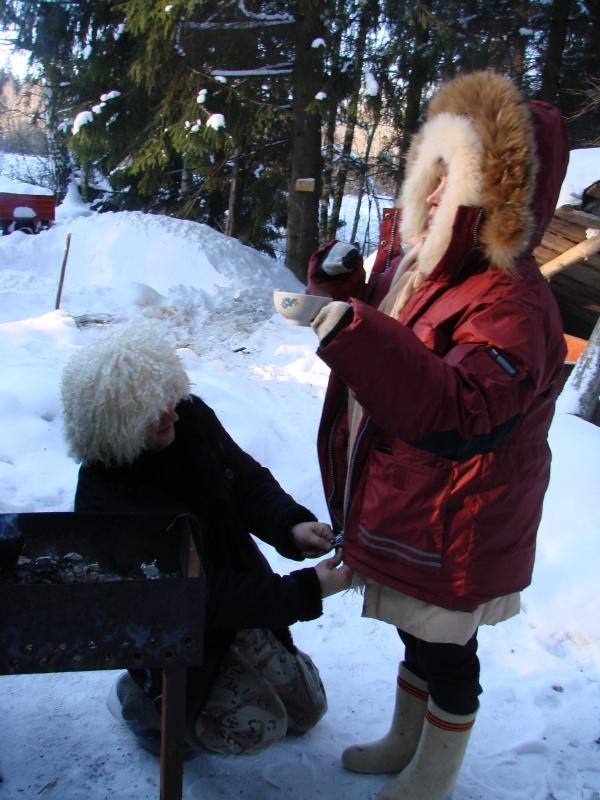 джентельмен и Снегурочка