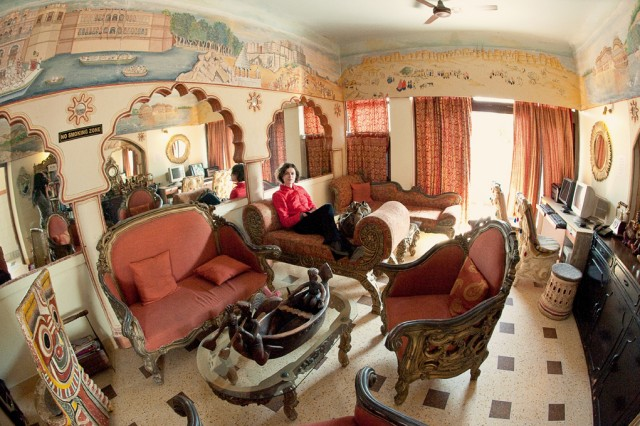 Комната отдыха, отель Pearl Palace, Джайпур