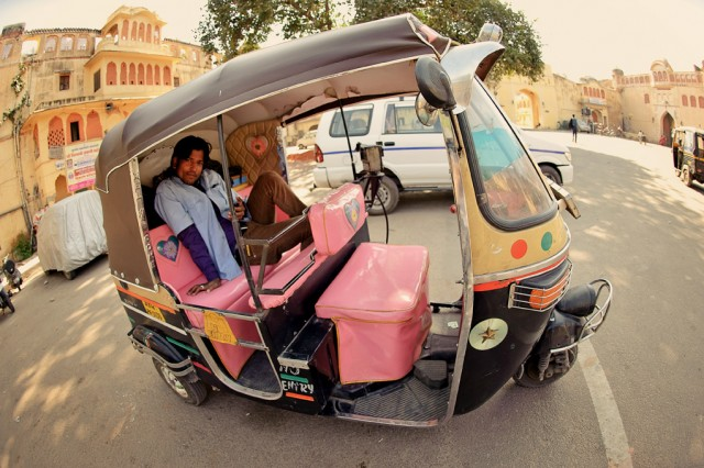 Рикша, Джайпур