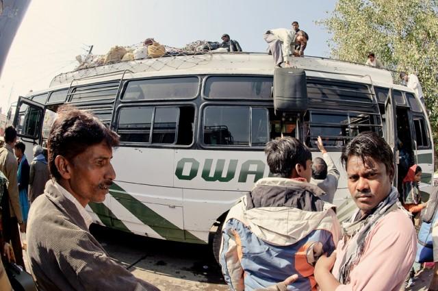 Автобус Джанси-Каджурахо