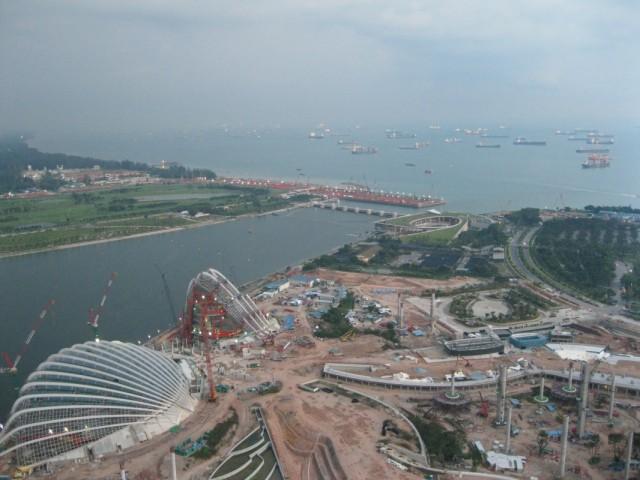 Вид на обратную сторону, Сингапур еще нас порадует архитектурными красотами