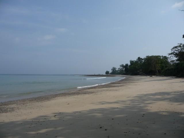Amkunj beach, Rangat