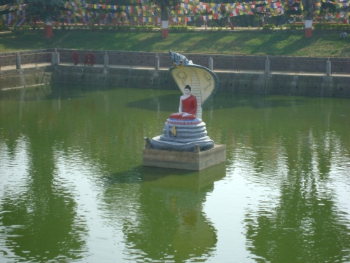Будда в пруду