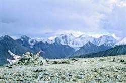 Вид на Белуху с перевала Кара-Тюрек
