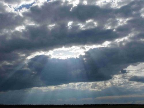 люблю снимать облака