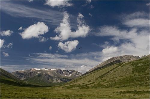 Теплоключский перевал. Дорога на плато Укок.