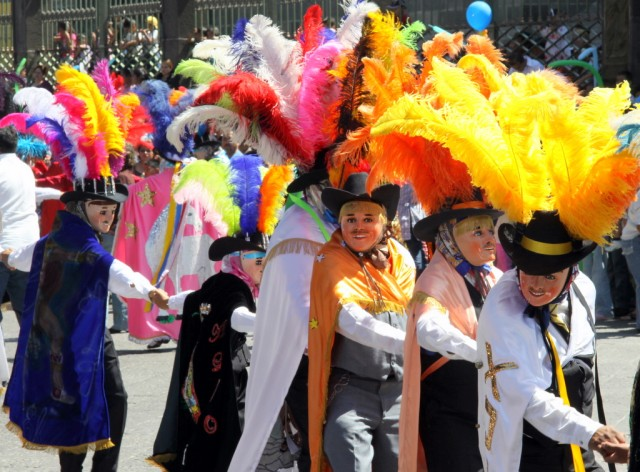 Фестиваль в Пуэбле