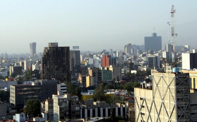 Центр конурбации Большой Мехико