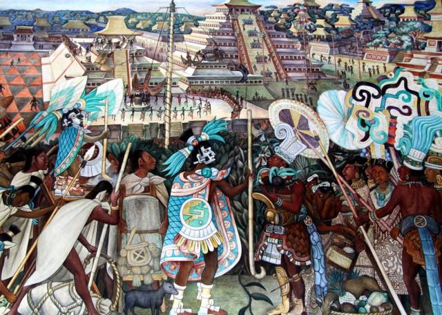 В 1507 г. Монтесума короновался как император мира