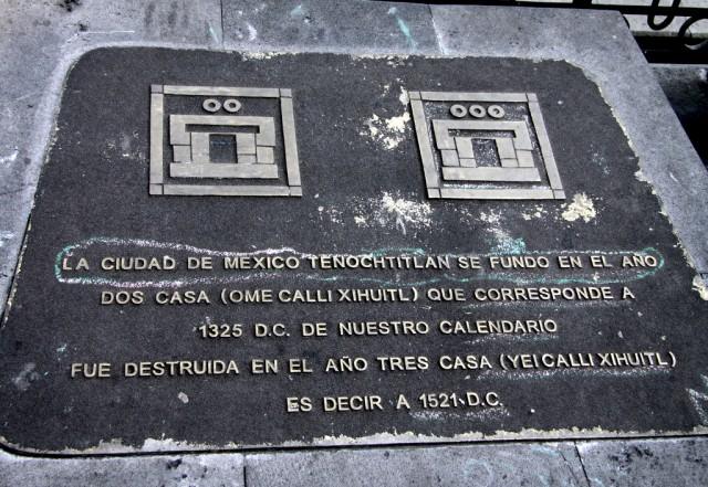 Теночтитлан – ацтеки жили в своей столице с 1325 г по 1521 г.