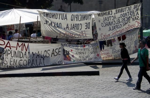 На главной площади всегда есть место для протеста