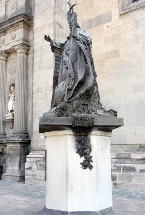 Памятник папе Иоанну Павлу II