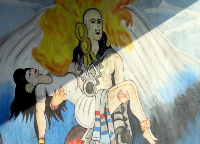 Вулканическая любовь Исты и Эль-Попо