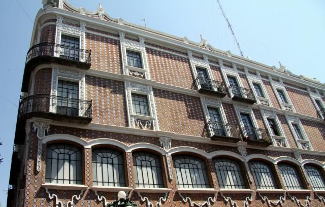 Талаверская керамическая плитка – бренд Пуэблы – ею отделаны почти все дома
